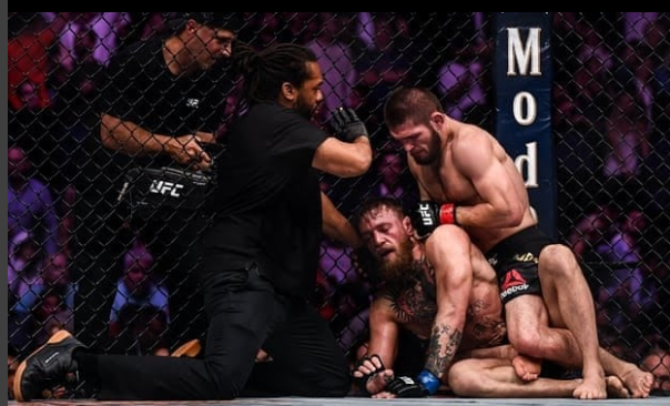 Conor McGregor choked out by Khabib who uses legal-steroids
